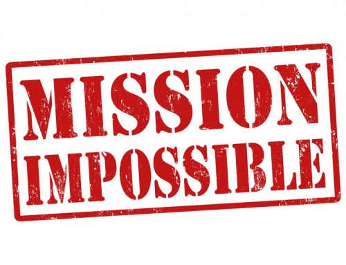 Hoe switch je van 'mission impossible' naar 'mission in progress'?